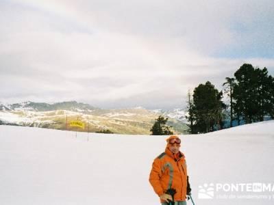 Esquí Baqueira; singles senderismo; fiesta almudena